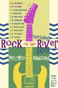 Rock on the River - Summer 2019 @ Hallowell Bandstand, Granite City Park